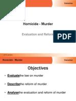 evaluation murder