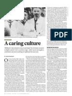 a caring culture