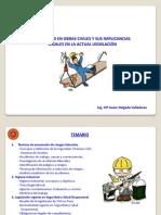 Seguridad en Obras Civiles y Sus Implicancias Legales