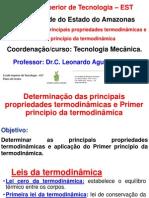 Act 4 . Determinacao de Propriedades e Primer Principio Da Termodinamica, EST