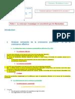 Fiche 1 - L'Instabilité de La Croissance 2014-2015