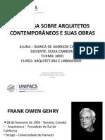 Frank Gehry - Bianca Cardoso