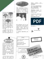 Folheto Sindicalizar Me