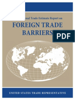 2014 National Trade Estimate Report on Foreign Trade Barriers