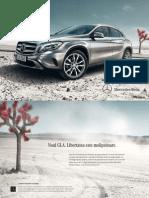 Broșură Mercedes-Benz GLA-Class