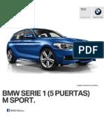 Ficha Tecnica BMW 118i (5 Puertas) M Sport Manual 2015