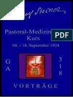 GA 318 - PASTORAL-MEDIZINISCHER KURS - RUDOLF STEINER