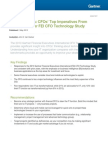 Survey Analysis CFOs Top Imperatives