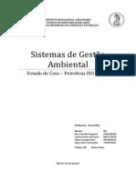 Trabalho - Sistemas de Gestão Ambiental