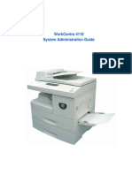 Xerox WorkCentre 4118 System Administration Guide (English)