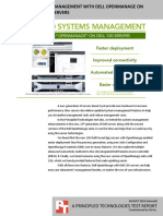 Simplifying systems management with Dell OpenManage on 13G Dell PowerEdge servers