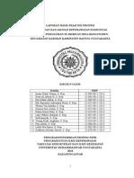 Laporan Hasil Praktek Profesi Dusun Sribitan 2014
