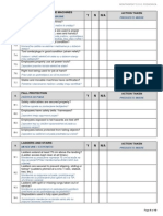 Construction Site Checklist - Pg 4