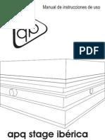 APQ STAGE |Manual de usuario plataformas.