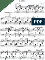 Grieg Pezzi Lirici