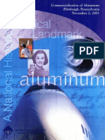 Commercialization of Aluminum Commemorative Booklet