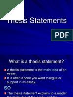 thesisstatement