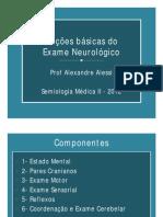Noções Básicas Do Exame Neurológico - UFPR