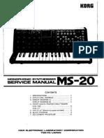 KorgMS20-ServiceManual