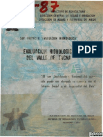 evaluacion hidrologica