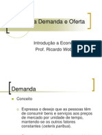 Aula 4 - Teoria Da Demanda e Da Oferta