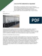 La distensión acerca de Frio industrial en Igualada