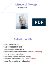 Biology- Chapter1 Introduction