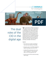 Deloitte - Dual Roles of the CIO