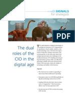 Deloitte - Dual Roles of the CIO