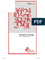 Corporate Schedule Charges