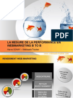 La Mesure de La Performance en Webmarketing B to B