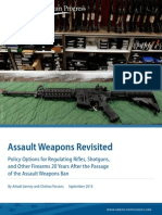 Assault Weapons Revisited