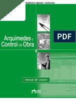 Arquímedes y Control de Obra - Manual Del Usuario 2