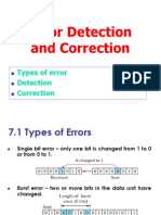 Error Detection Correction