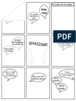 The Picture-Less Comic