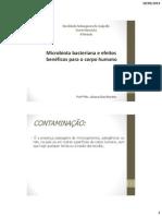Microbiota Bacteriana - Farmacia 4 Periodo