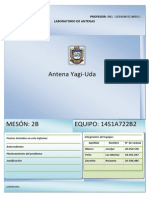 Informe Antena Yagi