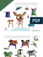 Edie's Ensembles Paper Dolls