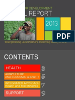 Partners for Development 2013 Annual Report