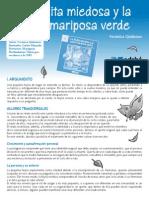 La Hojita Miedosa y La Sabia Mariposa Verde. Verónica Quiñones