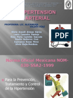 Hipertension Arterial y Pvc