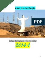 Informe de Geologia Morro Solar 2014-1