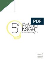 Regulamento 5º Prêmio Insight de Comunicação