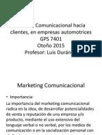 Manejo Comunicacional Hacia Clientes, En Empresas Automotrices