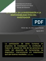 IMPRIMIR de La Etica en La Investigacion a La