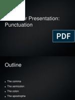 ESP Lec, 03 Grammar, Punctuation Marks