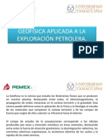 Geofísica Aplicada a La Exploración Petrolera