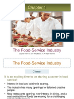 60794381 Ch01 the Food Service Industry