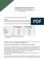 Rapporto Influenza Settimana 48-2009