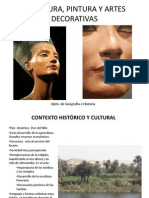 3 2 - egipto escultura y pintura